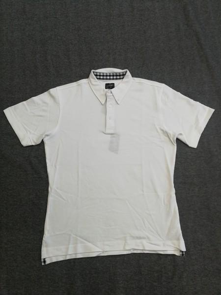 Poloshirt 1/2 Arm weiß