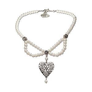 Perlen-Halskette Lara creme