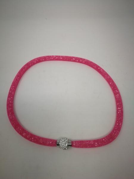 Halskette mit Strass-Ring