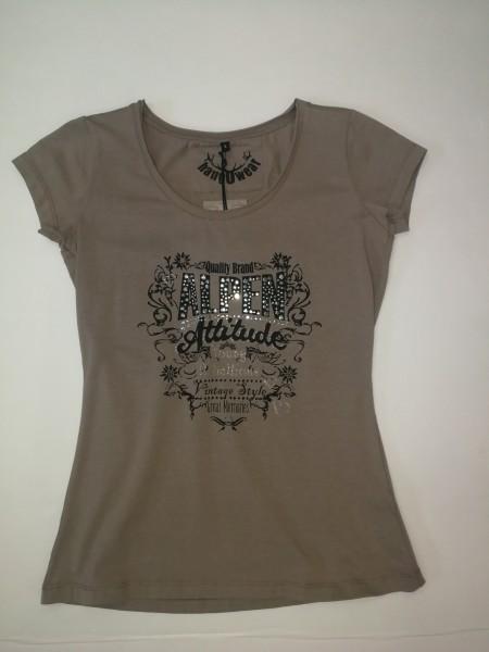 T-Shirt Nietendruck Gr S