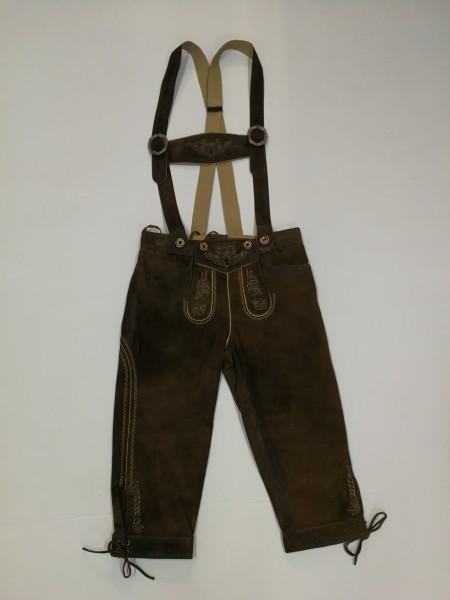 Damen Lederhose mit Träger Gr. 34