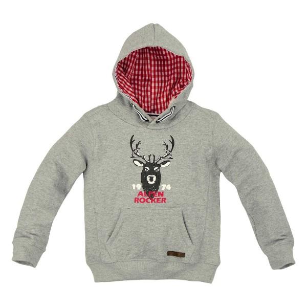 "Kinder Sweatshirt ""Alpen Rocker"" - grey melange"
