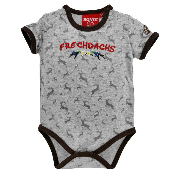 Baby Body Frechdachs grau
