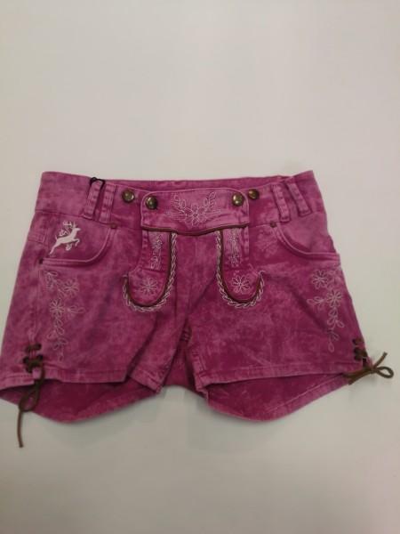 Damen Jeans Short pink