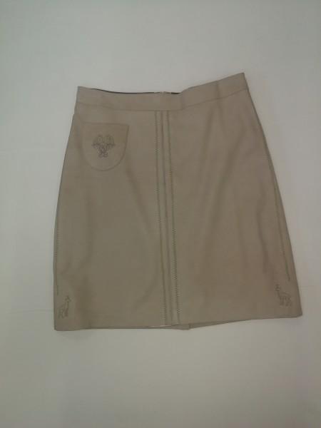Damen Trachtenlederrock Gr. 40