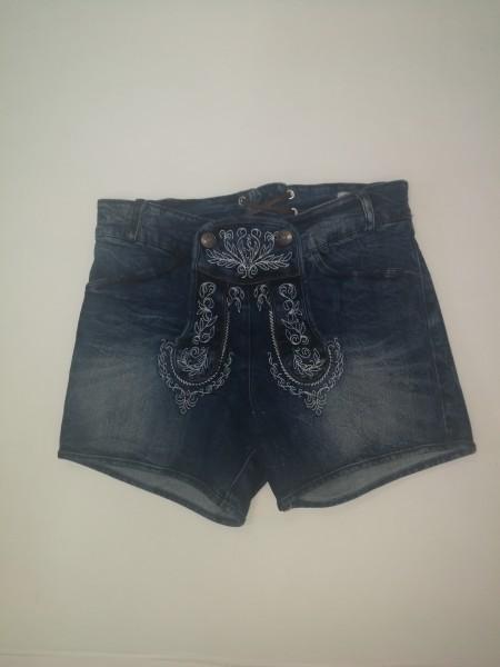 Damen Jeans-Short blau Gr 32