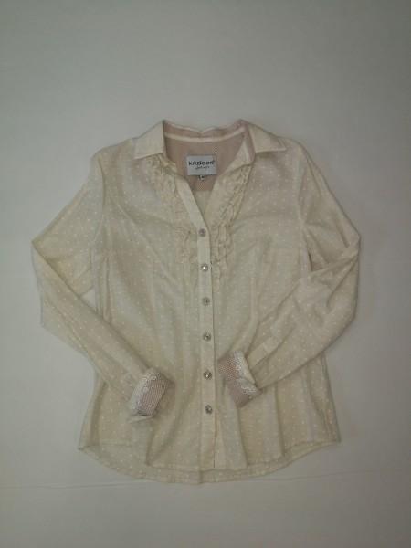 Damen Bluse - Beige Gr 40