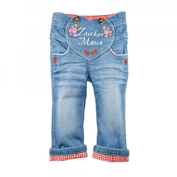 Baby Jeans Zuckermaus blau