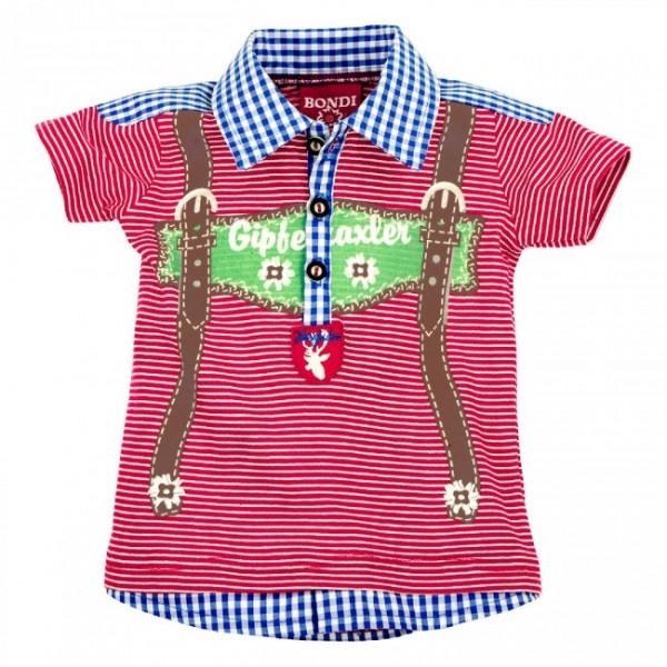 """Jungen Polo-Shirt """"Gipfelstürmer"""""""