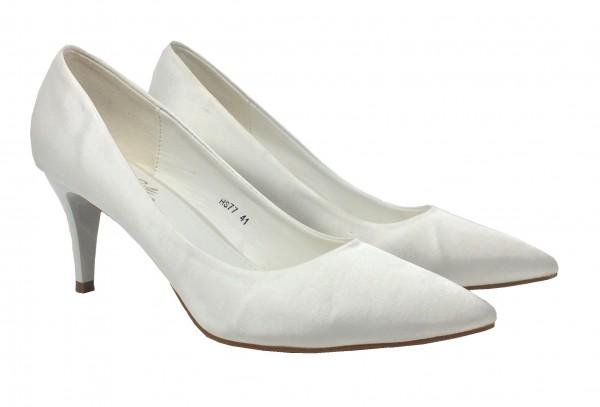 Damen Pumps white