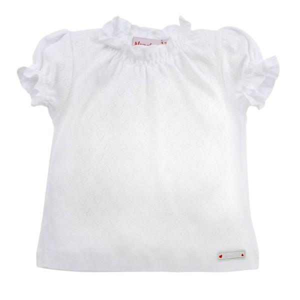 Baby T-Shirt weiss Gr. 110
