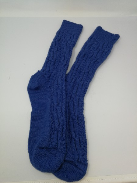 Herren Socken blau Gr 39-42