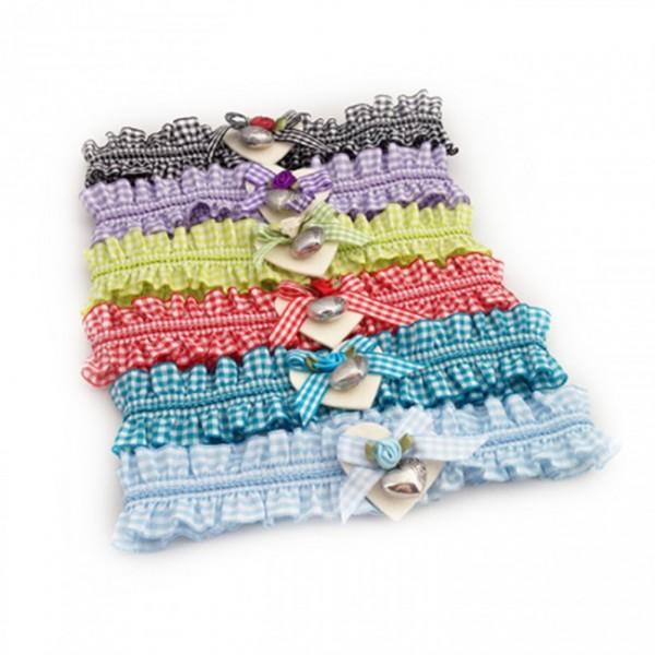 Strumpfband verschiedene Farben