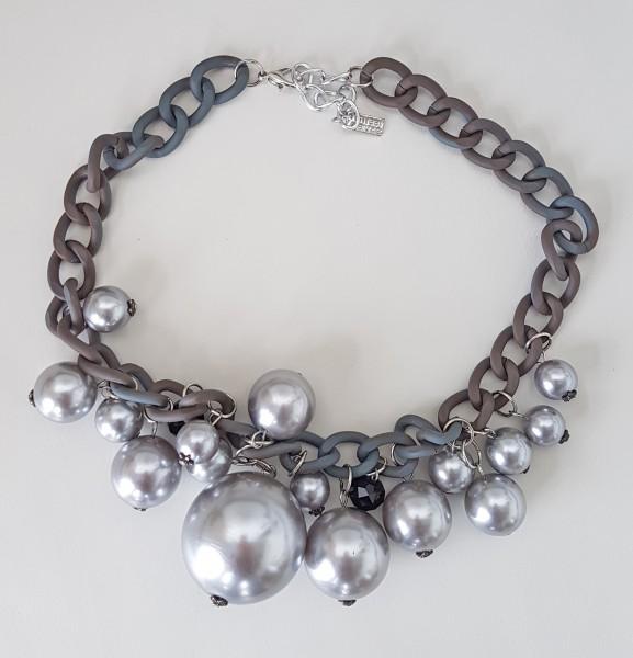 Halskette silver