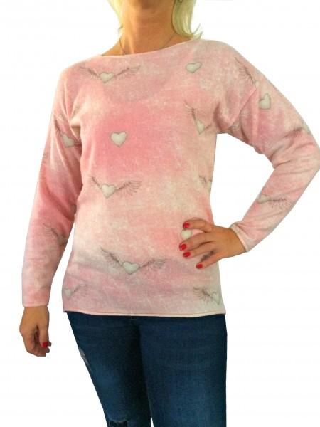 Alpensünde Pullover Aurora rose