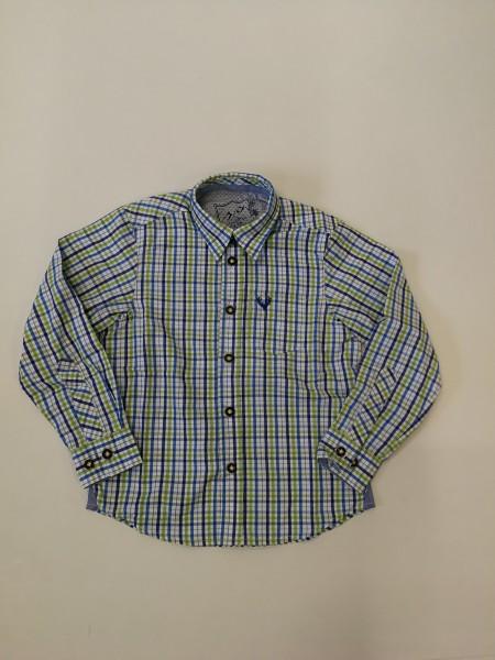Jungenhemd Grün/blau