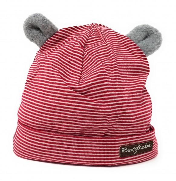Baby Mütze rot