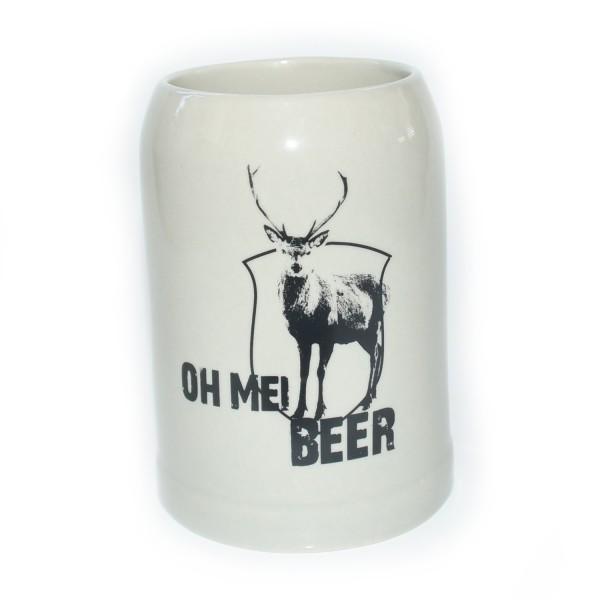 Bierkrug 'Oh mei Beer'