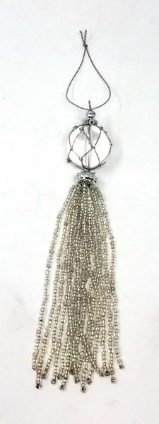 Weihnachtsbaumschmuck mit Perlen