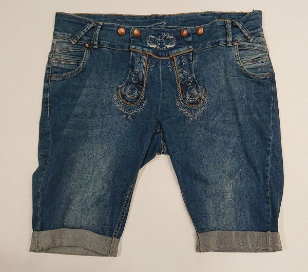 Jeans Damen Bermuda
