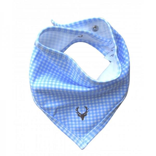 Baby Halstuch Vichy blau