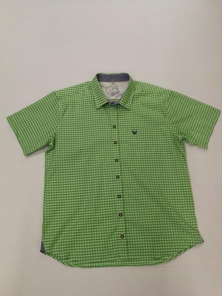 Herren Hemd apfelgrün