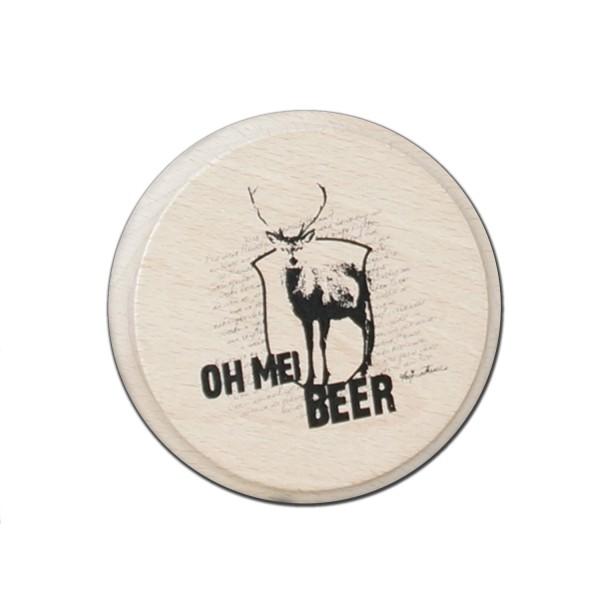 Bierdeckel Oh Mei Beer handmade