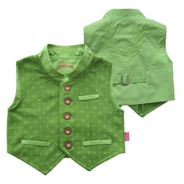 Baby Weste Gamsburg grün