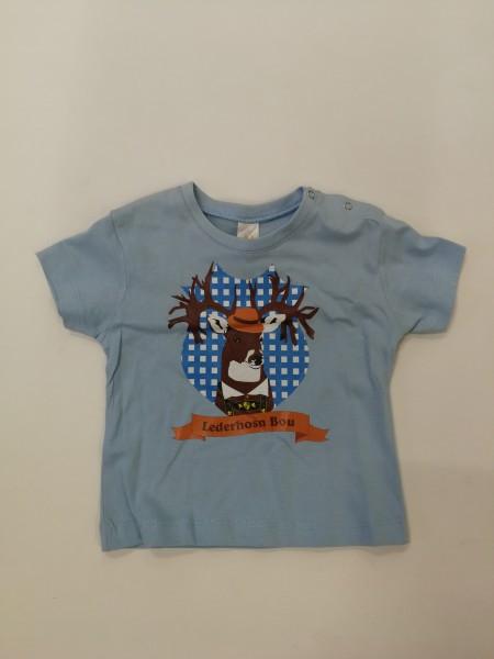 Babyshirt Lederhosen Bou Gr 62/68