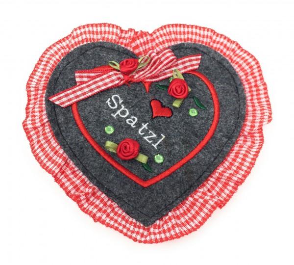 Geldbeutel Herzgeldtasche rot